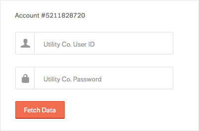 Automatically import utility data